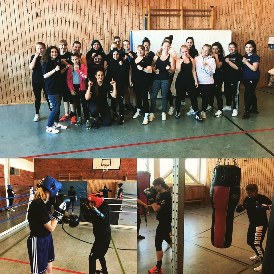 Frauensparring beim Boxteam RTSV